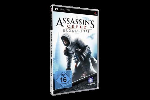 Диск с игрой Assassin's Creed: Bloodlines