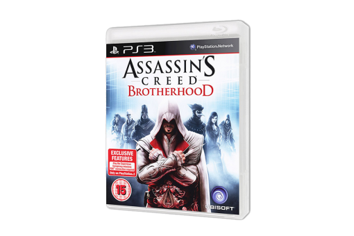 Диск с игрой Assassin's Creed: Brotherhood