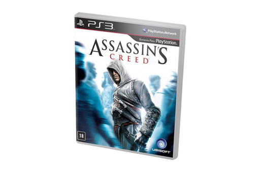 Диск с игрой Assassin's Creed