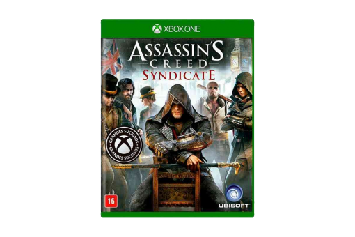 Диск с игрой Assassin's Creed Syndicate для xBox One