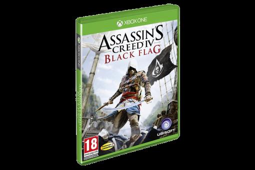 Диск с игрой Assassin's Creed IV Black Flag для xBox 360/xBox One