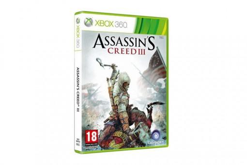 Диск с игрой Assassin's Creed III