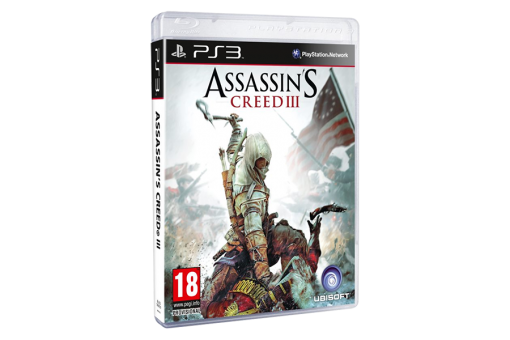 Диск с игрой Assassin's Creed III