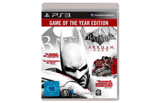 Диск с игрой Batman: Arkham City