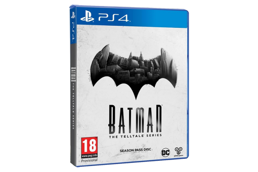 Диск с игрой Batman: The Telltale Series для PlayStation 4