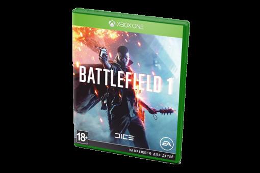 Диск с игрой Battlefield 1 для PlayStation 4