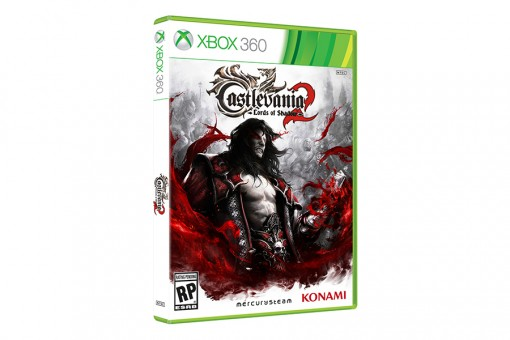 Диск с игрой Castlevania: Lords of Shadow 2