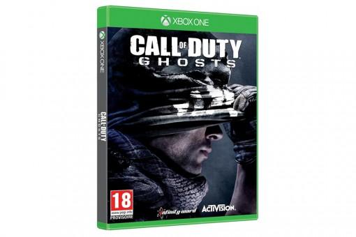 Диск с игрой Call of Duty: Ghosts