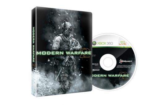 Диск с игрой Call of Duty: Modern Warfare 2