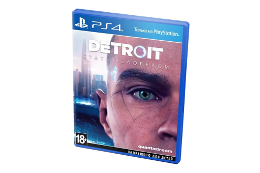 Диск с игрой Detroit: Become Human для PlayStation 4