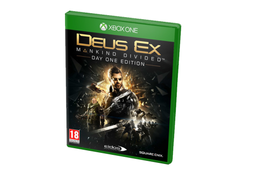 Диск с игрой Deus Ex: Mankind Divided для xBox One