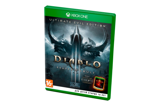 Диск с игрой Diablo III: Ultimate Evil Edition