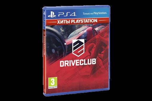 Диск с игрой Driveclub для PlayStation 4