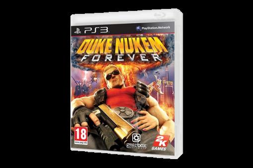 Диск с игрой Duke Nukem Forever