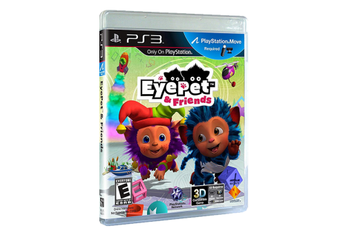 Диск с игрой EyePet & Friends