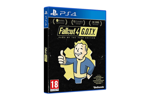 Диск с игрой Fallout 4 для PlayStation 4