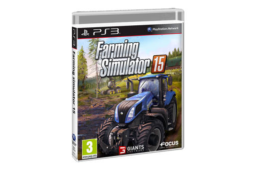 Диск с игрой Farming Simulator 15