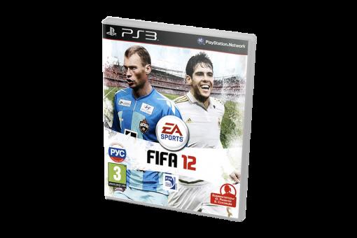 Диск с игрой FIFA 12