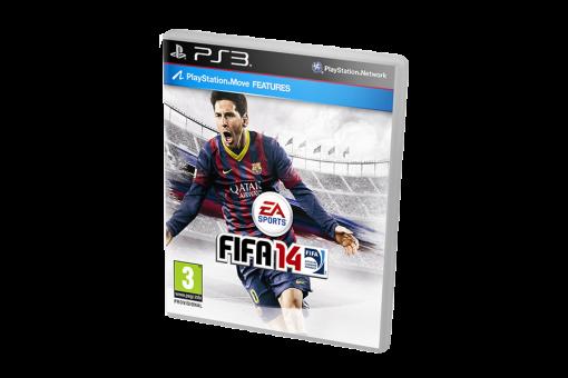 Диск с игрой FIFA 14