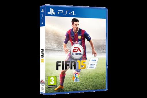 Диск с игрой FIFA 15