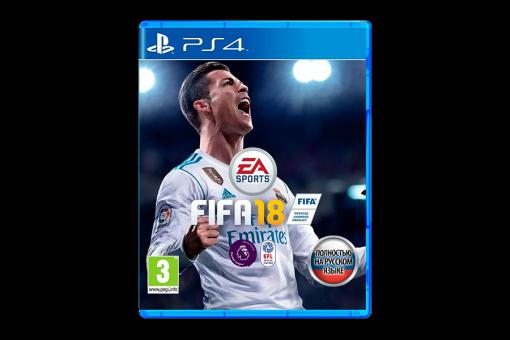 Диск с игрой FIFA 18