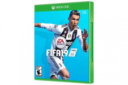 Диск с игрой FIFA 19
