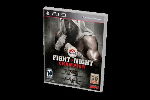 Диск с игрой Fight Night Champion