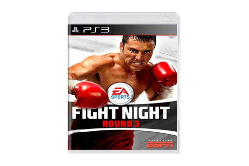 Диск с игрой Fight Night Round 3