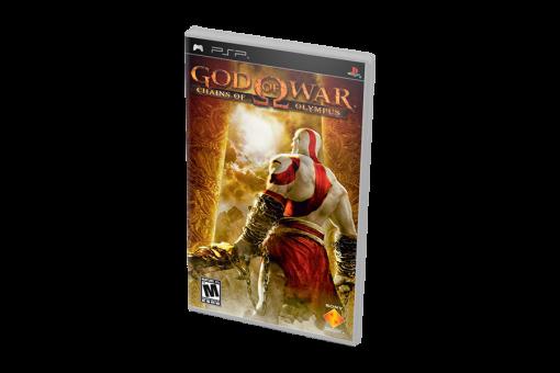 Диск с игрой God of War: Chains of Olympus