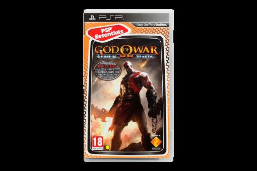 Диск с игрой God of War: Ghost of Sparta