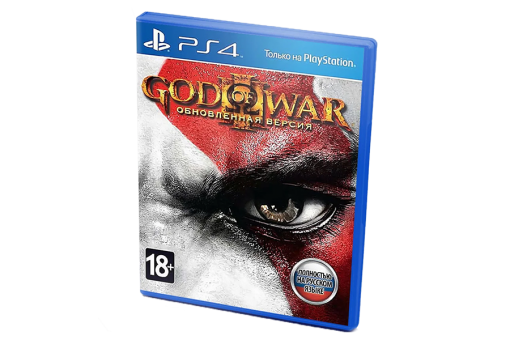 Диск с игрой God of War III