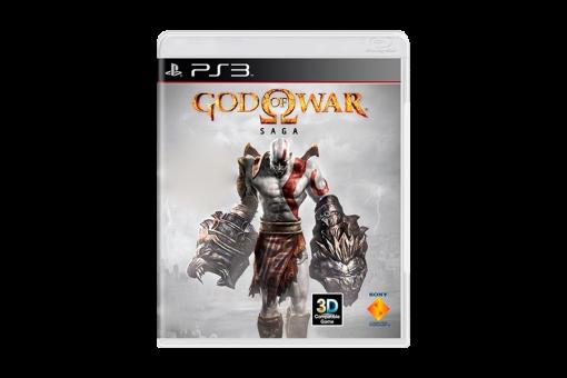 Диск с игрой God of War. Saga