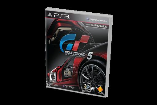 Диск с игрой Gran Turismo 5