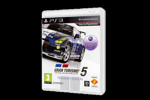 Диск с игрой Gran Turismo 5: Academy Edition