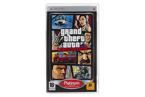 Диск с игрой Grand Theft Auto: Liberty City Stories