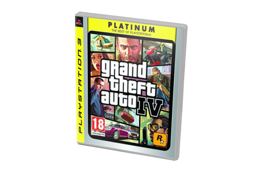 Диск с игрой Grand Theft Auto IV Platinum