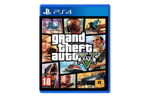 Диск с игрой Grand Theft Auto V