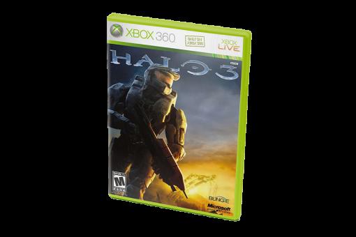 Диск с игрой Halo 3