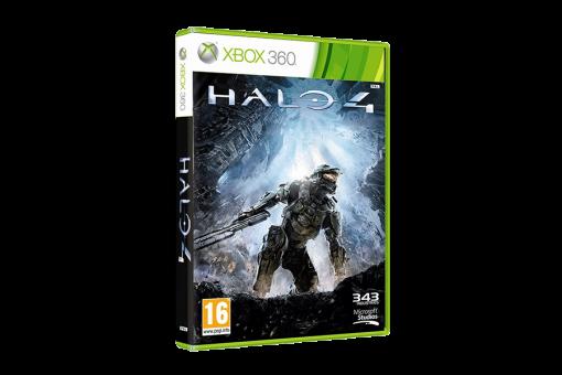 Диск с игрой Halo 4
