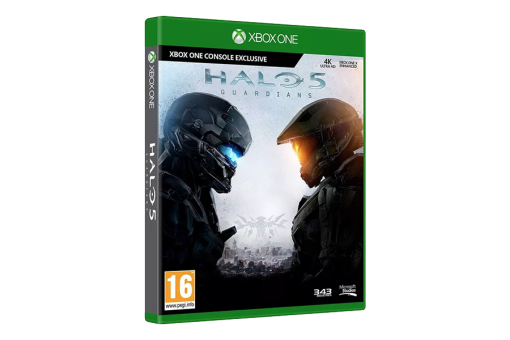 Диск с игрой Halo 5: Guardians
