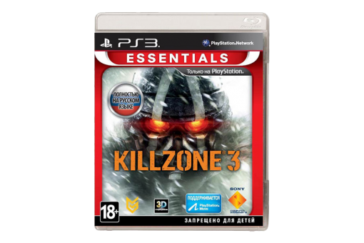 Диск с игрой Killzone 3