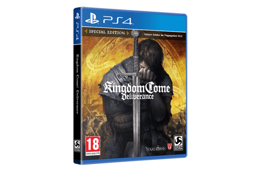Диск с игрой Kingdom Come: Deliverance для PlayStation 4