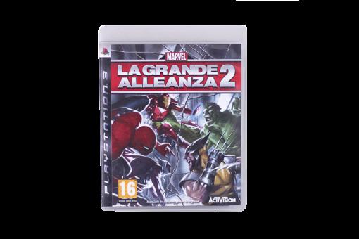 Диск с игрой Marvel: Ultimate Alliance 2