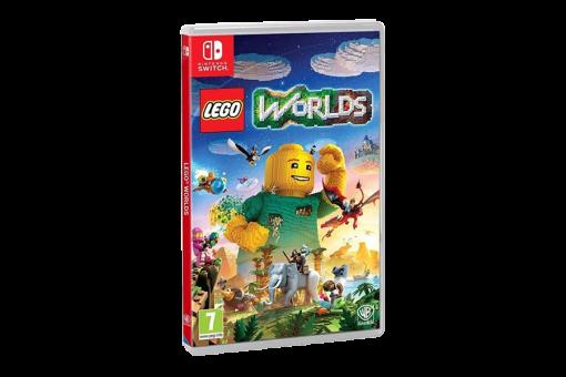 Картридж Б/У Lego Worlds для Nintendo Switch
