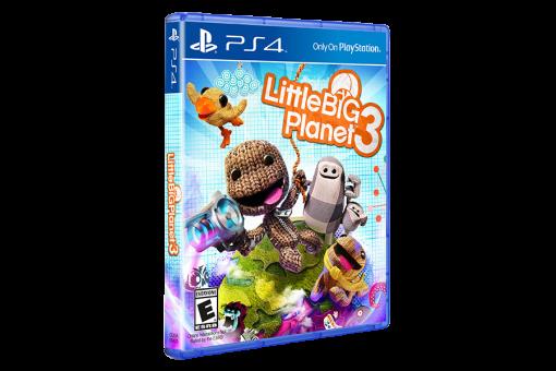 Диск с игрой LittleBigPlanet 3 для PlayStation 4