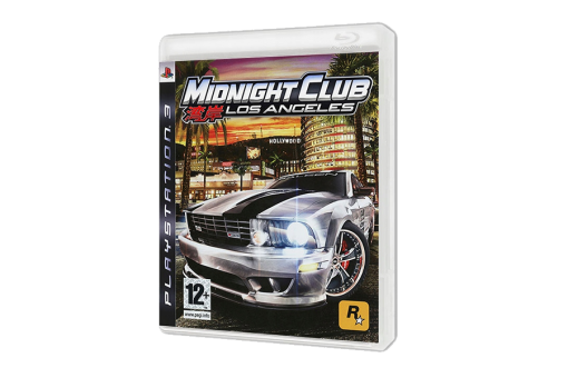 Диск с игрой Midnight Club: Los Angeles