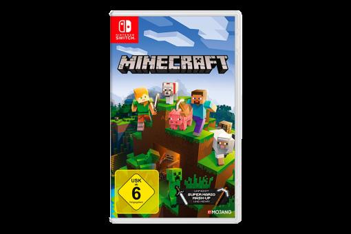 Картридж Б/У Minecraft для Nintendo Switch