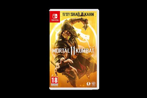 Картридж Б/У Mortal Kombat 11 для Nintendo Switch