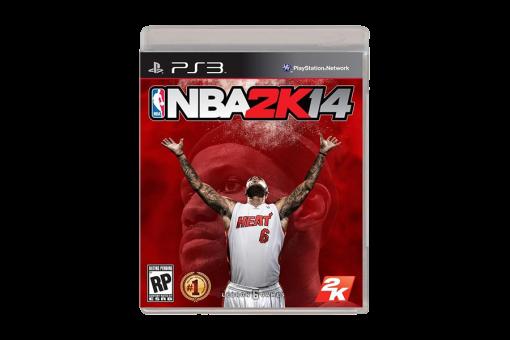 Диск с игрой NBA 2K14