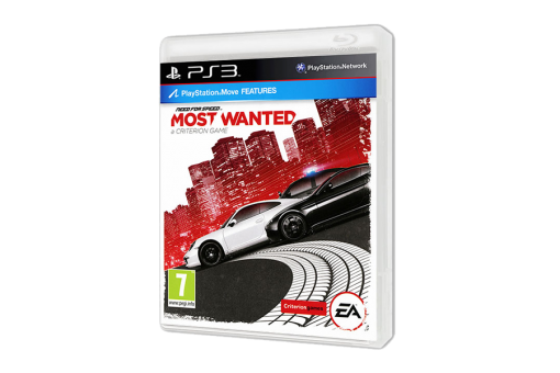Диск с игрой Need for Speed: Most Wanted